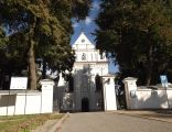 Łęczna, kościół par. p.w. św. Marii Magdaleny - widok od frontu