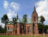 Zespół kościoła par. p.w. św. Mikołaja w Lubzinie