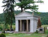 PL, Mysłakowice, Cmentarz komunalny - mauzoleum rodziny von Ruschwey