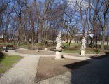 Będzin, park, XVIII 01