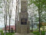 Stary Cmentarz w Radziechowach - pomnik upamiętniający ofiary wojny