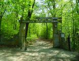 Wejście do Arboretum Bramy Morawskiej w Raciborzu