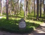 Arboretum Kudypy tablica