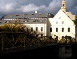 OPOLE dom Archiwum Państwowe ul Zamkowa 2 -widok zza mostu na kanale. sienio