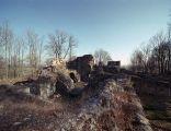 Ruiny zamku w Bąkowej Górze