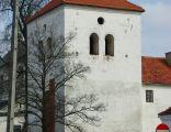 Średniowieczna wieża obronna w Łęczycy.