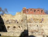 Wieluń, mury obronne, baszta Prochownia