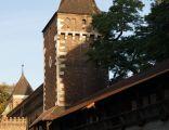 City Walls of Krakow, Carpenters' Tower, Old Town, Krakow, Poland