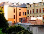 OPOLE pozostałość murów obronnych-Baszta Wilcza 1300r widok z Małego Rynku. sienio