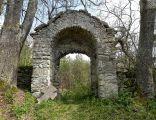 Cerkwisko w Dziewięcierzu Moczarach - brama wschodnia