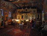 404 Cerkiew p.w. Przemienienia Pańskiego, w zespole klasztornym prawosławnym, drewn., 1991-1994 wnętrze
