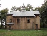 A 111 Cerkiew unicka, ob. kościół rzym.-kat. fil. p.w. Zmartwychwstania Pańskiego, drewn., 1728 i Dzwonnica, przy cerkwi unickiej 5