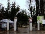 Main gate of Agrykola Cemetery in Elbląg