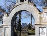 Brama cmentarna cmentarza ewangelickiego
