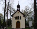 Stary cmentarz w Łodzi - kaplica w części katolickiej