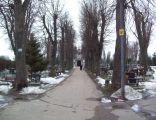 Cmentarz Komunalny w Kłodzku - główna aleja