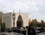 Chapel of All Saints (1999, by arch. Witold Cęckiewicz), Salwator Cemetery, Waszyngtona Av, Krakow, Poland