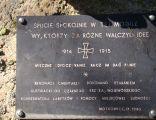 Cmentarz wojenny z I wojny światowej 6