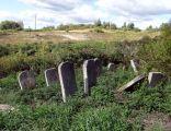Krzeszów - Cmentarz żydowski (kirkut) - macewy (17)