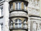 Legnica, kamienica w rynku -Aw58- 24 marca 2012 r.SDC11782