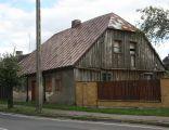 Bieżuń, ul. Sierpecka 19, dom drewniany; Kot