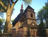 St Michael Archangel church, Domachowo, Poland