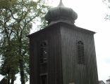 Zaborów. Dzwonnica przy kościele Nawiedzenia NMP1