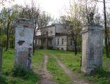 Młodziejewice dwór i brama wjazdowa