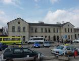 Piotrkow dworzecPKP budynek glowny