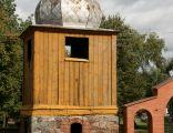 Zawidz Kościelny, dzwonnica przy kościele par. p.w. św. Marcina 01; Kot