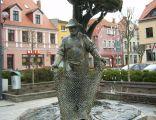 Międzychód - rynek - fontanna