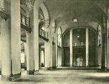 Politechnika Gdańska hol Gmachu Głównego 1904 rok