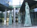 Gmach Sądu Najwyższego Rzeczypospolitej Polskiej - kariatydy