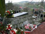 Miasteczko Krajeńskie, cmentarz katolicki, grób Michała Drzymały (Piotr)