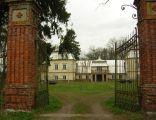 Hruszniew.Pałac Broell-Platterówz 1866 roku.woj.