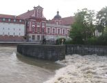 Wrocław, jaz św Macieja, 2010-05-22 wielka woda - 05