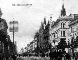 Warszawa - Marszałkowska 1902