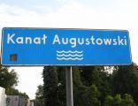 Kanal Augustowski - znak