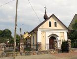 Podlaskie - Wizna - Wizna - Jana Pawła II - Kaplica - Front;lewo - v-ESE