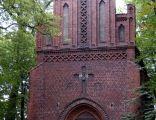 Kaplica cmentarna ,front- Opole ulica Wrocławska. sienio
