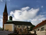 Grodowiec - Kościół parafialny św. Jana Chrzciciela. Kaplica Góry Oliwnej.