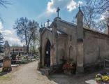 Brodnica cmentarz kaplica Ossowskich