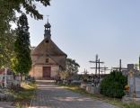 Kaplica cmentarna z początku XIX wieku, cmentarz z początku XIX wieku, Sławków 5