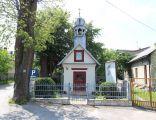 Front kapliczki w Podzamczu