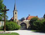 Wojcieszów, Widok na kościół ewang (09 2008)