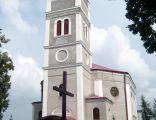 Lubno - dawny kościół ewangelicki, obecnie rzymskokatolicki pw. Chrystusa Króla