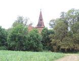 Evangelical church ruins in Powidzko 2014 P02