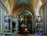 Exaltation of the Holy Cross Church (interior), 13 Bernardyńska street, City of Tarnów, Poland