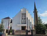Szepietowo - widok na fasadę kościoła