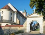 Kościół parafialny p.w. Wniebowzięcia NMP, 1620 widok od wschodu
